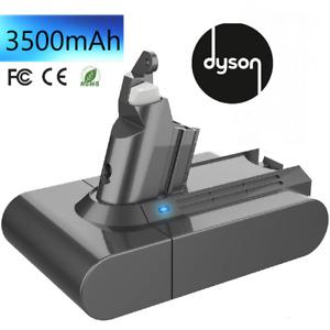 Batterie pour Dyson V6 21,6V 3500mAh 3,5ah Li-ION SV03 SV06 DC58 DC59 DC61 DC62