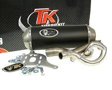 Escape Deportivo con E Dibujo Turbo Kit GMax 4T para Suzuki Burgman 125i 150i