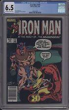 Iron Man #181 - Cgc 6.5 - 0286332031