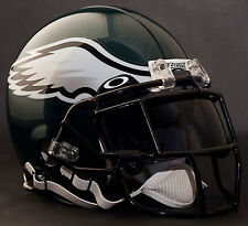 ***CUSTOM*** PHILADELPHIA EAGLES NFL Riddell ProLine AUTHENTIC Football Helmet