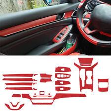 Carbon Fiber Interior Panel Sticker For Honda Accord 2018-2020 Car Accessories