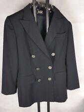 JEAN PAUL Exklusiver Damen Blazer, schwarz Münzknöpfe ladies jacket black 38 S