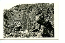 Cinder Cone Lava Flow-Lassen Volcano-California-RPPC-Real Photo Vintage Postcard