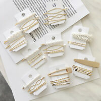 Korea Style Pearls Hair Pins Clip Pin Barrette Headwear Hairpins Hair Accessorie