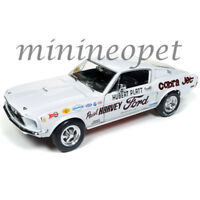 AUTOWORLD AW247 1968 FORD MUSTANG COBRA JET HUBERT PLATT NHRA SUPER STOCK 1/18