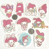 RARE! 10 Large My Melody Waterproof Kawaii Stickers For Laptop Hydro Flask