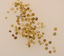 1.01 ct Lot  100% Natural Round Fancy Yellow Natural Loose Diamond Free Shipping
