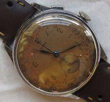 Diwen Chronograph mens wristwatch nickel chromiun case load manual