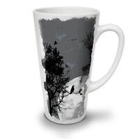Night Raven Crow Nature NEW White Tea Coffee Latte Mug 12 17 oz | Wellcoda