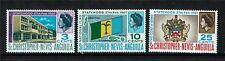 St Kitts & Nevis 1967 Statehood SG 182/4 MNH
