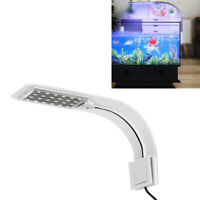 LED Aquarium Licht Pflanzen Wachsen Beleuchtung Clip-On Lampe mit Eu-Stecker DE