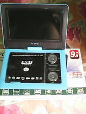 "9.8"" 3D PORTABLE LAPTOP EVD/DVD PLAYER, LED TV TUNER, USB CARD READER, GAME"