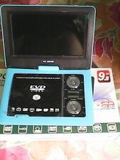 "9.8"" 3D PORTABLE LAPTOP EVD/DVD PLAYER, LED TV TUNER, USB CARD READER, GAME"