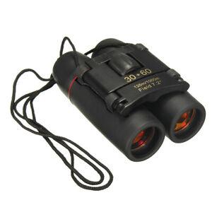Day and Night Vision Portable Mini Binoculars 30x60