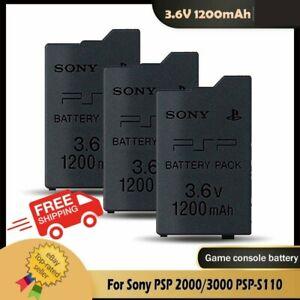 BRAND NEW OEM For Sony PSP 2000 3000 Slim Battery For 1200mAh PSP-S110 A502