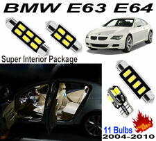 11pcs White 5630 LED Interior Light Kit For BMW 6 Series E63 Coupe E64 Cabriolet
