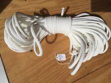 "5/16"" x 120 ft. of Hollow Braid Polypropylene Rope. White."