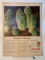 1955 Campbell's Soup - Cream of Asparagus - Magazine Ad