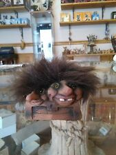 Troll NyForm Norvegese ORIGINALE baule cod 080 fata magia folletto pixie elfo