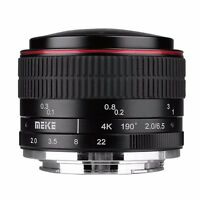 Meike 6.5mm F/2.0 Fisheye Lens Manual Focus Lens for Fujifilm Mirrorless cameras