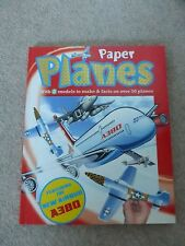 PAPER PLANES illustrated activity book WITH 7 MODELS TO MAKE