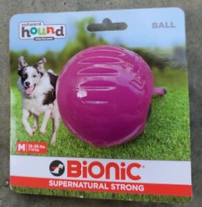 Outward Hound Bionic Ball Supernatural Strong for play and treat giving, New
