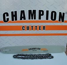 "Champion Cutter Bar and Chain for Stihl saws 20""  3/8"" .050 72dl  3/8 .050 72"