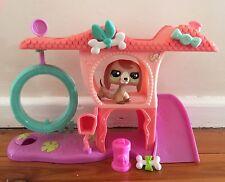 Littlest Pet Shop #2035 Playful Poppy House Original Accessories