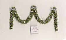 Christmas Garland Silver - 1/12 scale dollhouse miniature DHS49232