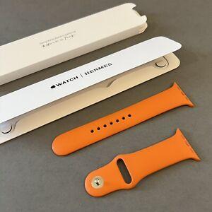 44mm Hermès Orange Sport Band 42mm Apple Watch Hermes