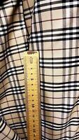 Original Burberry  tartan cotton fabric,material 150 cm wide