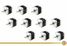DE Free 5PCS Nema17 Schrittmotor 17HS4410-04 1A 40mm Bipolar 0.5Nm D-Shaft Φ5mm