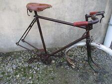 cadre de vélo ancien a barre.