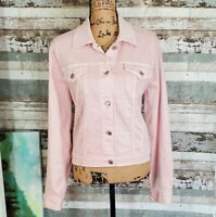 NEW W/TAG! MICHAEL KORS Women's Pink Denim Jacket. Large