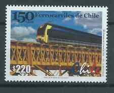 CHILE 2001 Train Locomotive railway railroad MNH