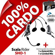 Cardo Scala Rider SHO-1 for SHOEI Helmet Bluetooth Motorcycle Intercom Headset