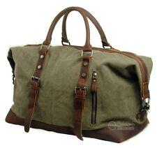 Canvas Travel Handbag Sports Weekend Overnight Carry-on Duffel Gym Bag Luggage