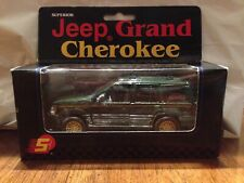 Superior Jeep Grand Cherokee & 1965 Ford Mustang Diecast w Pullback Action MIB