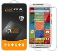 2X Supershieldz Tempered Glass Screen Protector For Motorola Moto X (2nd Gen)