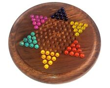 Chinese Checkers board set with Glass Marbles