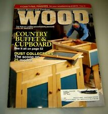 Wood Better Homes & Gardens #96 April 1997 Country Buffet & Cupboard.....