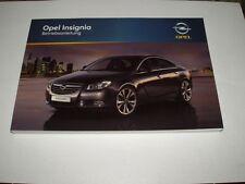 Bedienungsanleitung Opel Insignia, Ausgabe 08/2009 (neu) #bai0809