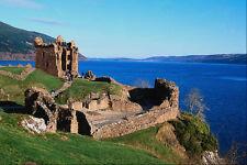 691028 Urquhart Castle Loch Ness Scotland A4 Photo Print