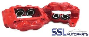 Subaru Impreza WRX 2000 to 2008, Pair Front 4 Pot  Brake Calipers