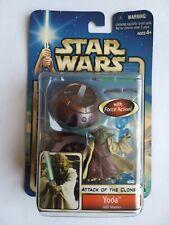 Star Wars Attack Of The Clones Yoda Jedi Master #23 Collection 1 BNIP