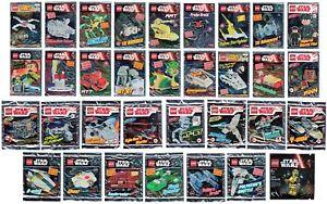 Lego Star Wars Polybag Auswahl Limited Edition Minifiguren Raumschiff