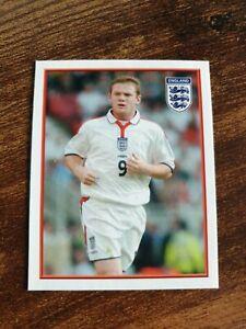Merlin England Euro 2004 Wayne Rooney Football Sticker Mint 77