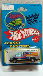 """Hot Wheels Classy Customs """"Inside Story"""" on Patch Card. 1/64"""