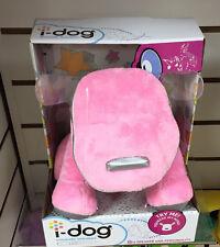 PINK I-DOG mp3 Altoparlante Musica Snuggly i Dog-morbido peluche giocattolo-regalo di Natale