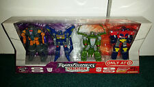 Transformers Legends Cybertron 4-Pack Megatron Optimus Prime Soundwave Jetfire